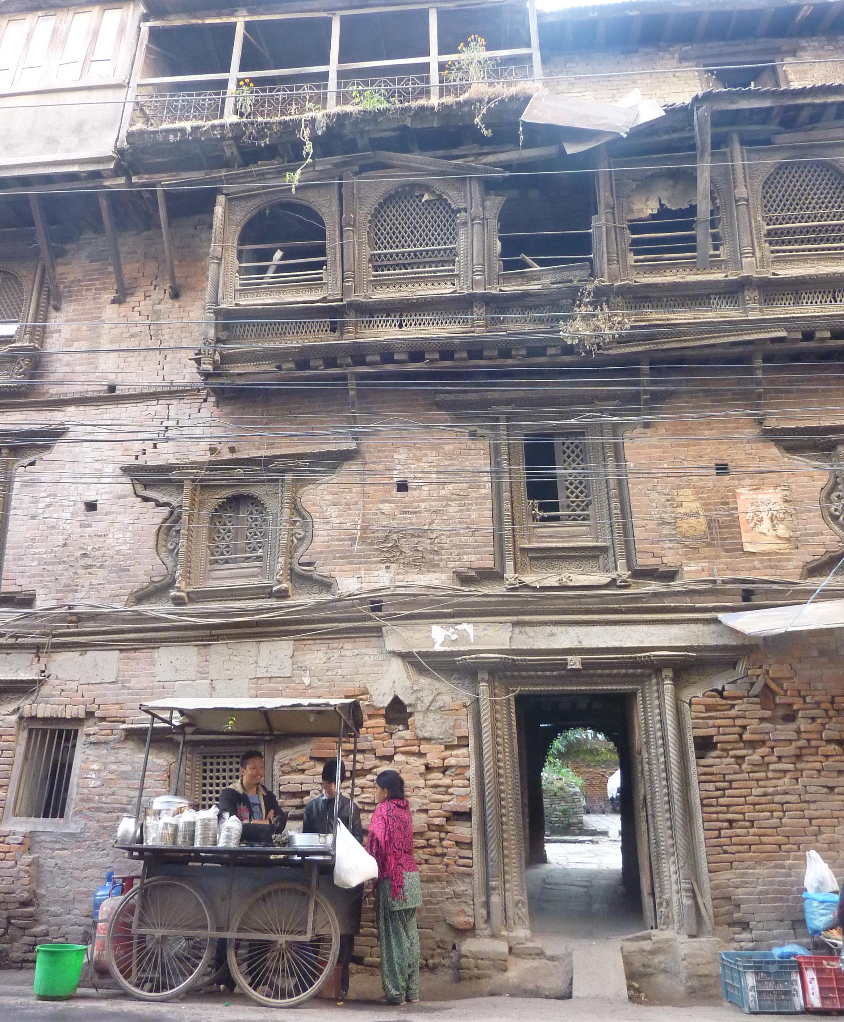 A Very Old Old Building in Kathmandu