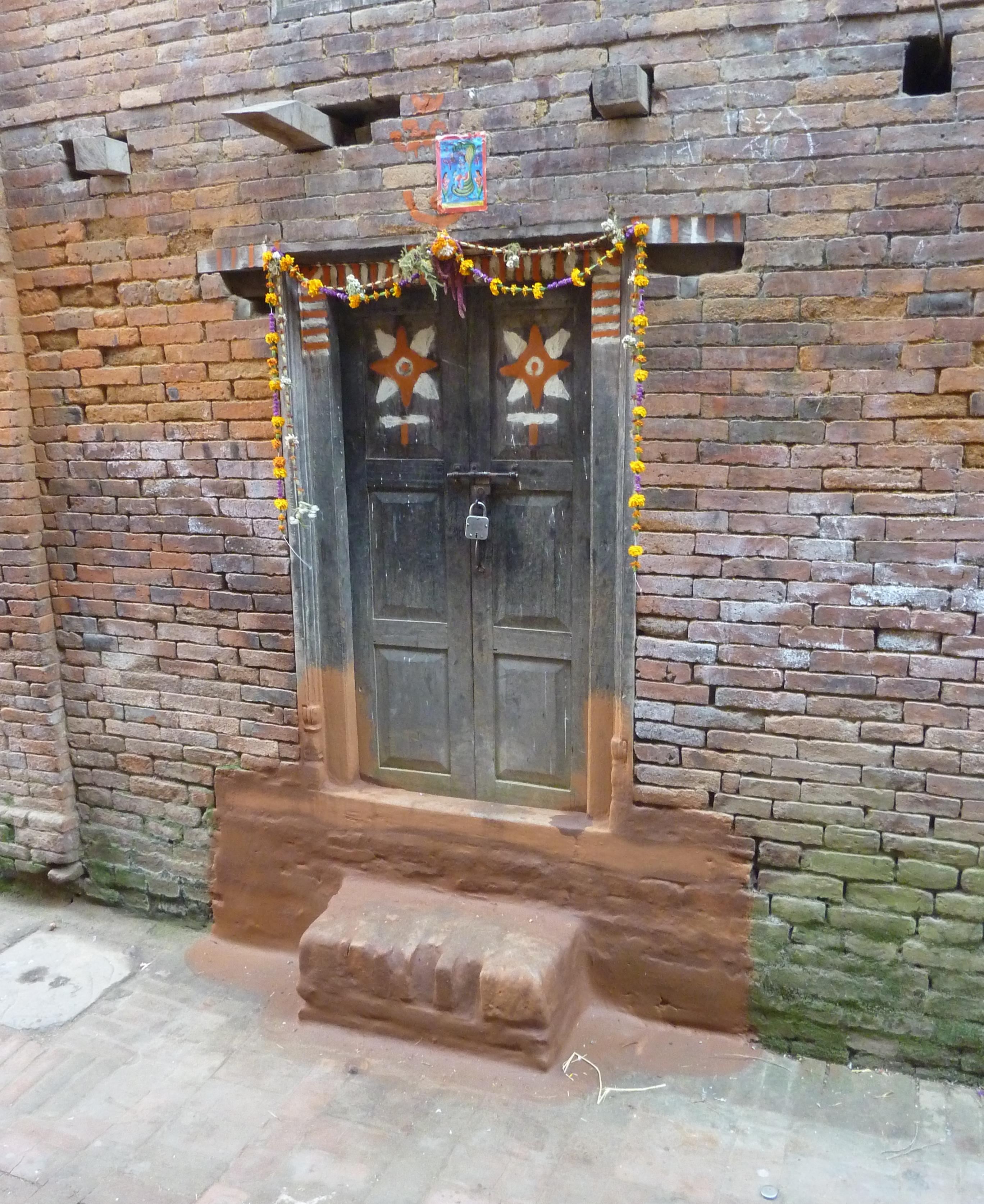 Little Door in Bhaktapur