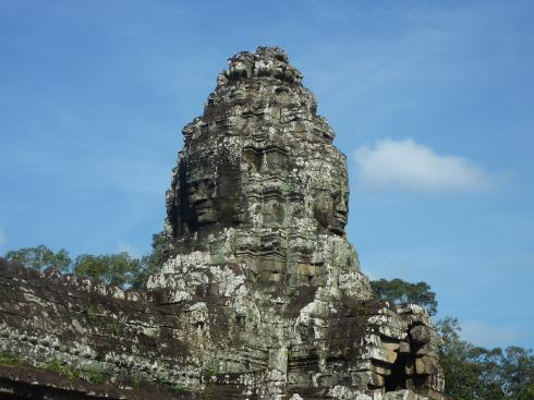 Bayon might be the exception to the ancient blocks of stone don't talk rule.