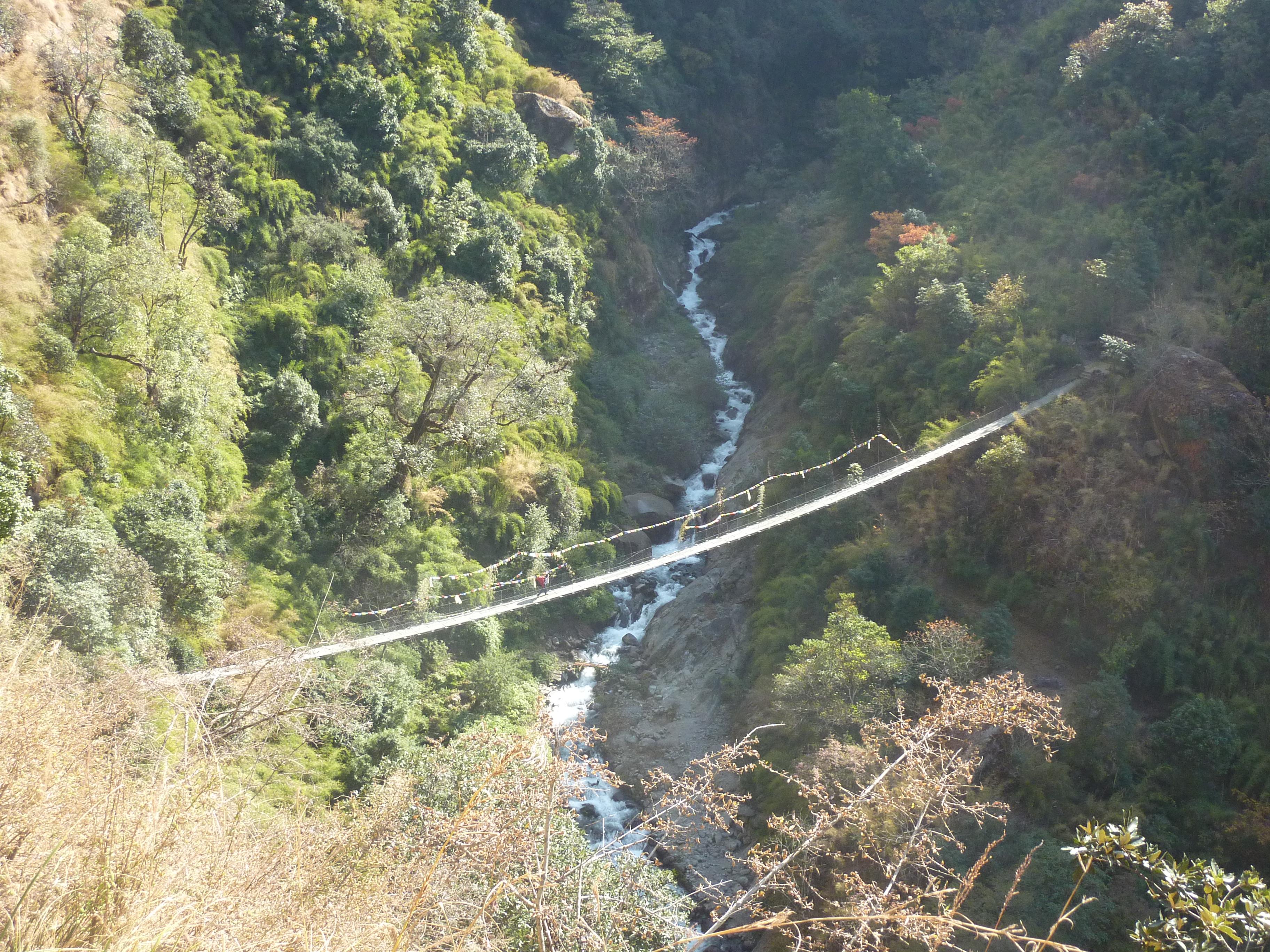Bridge to Thulo Syabru