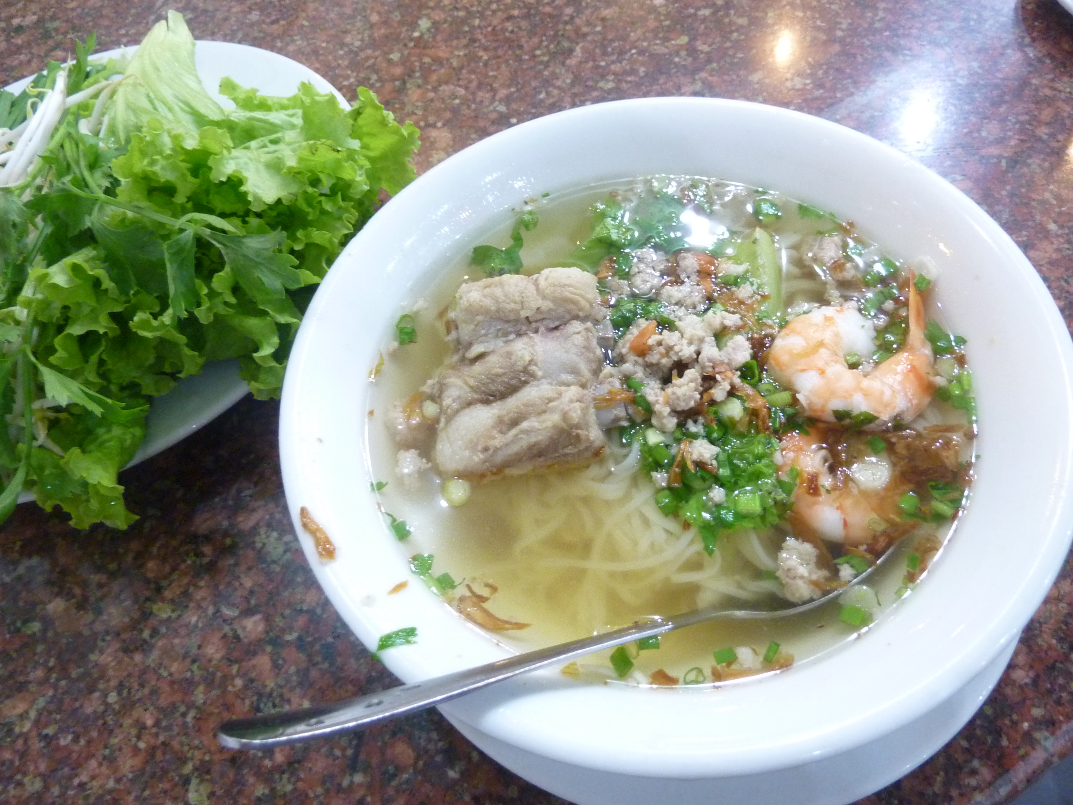 Not the bowl of pho I ate upon arrival. But a solid bowl nonetheless.