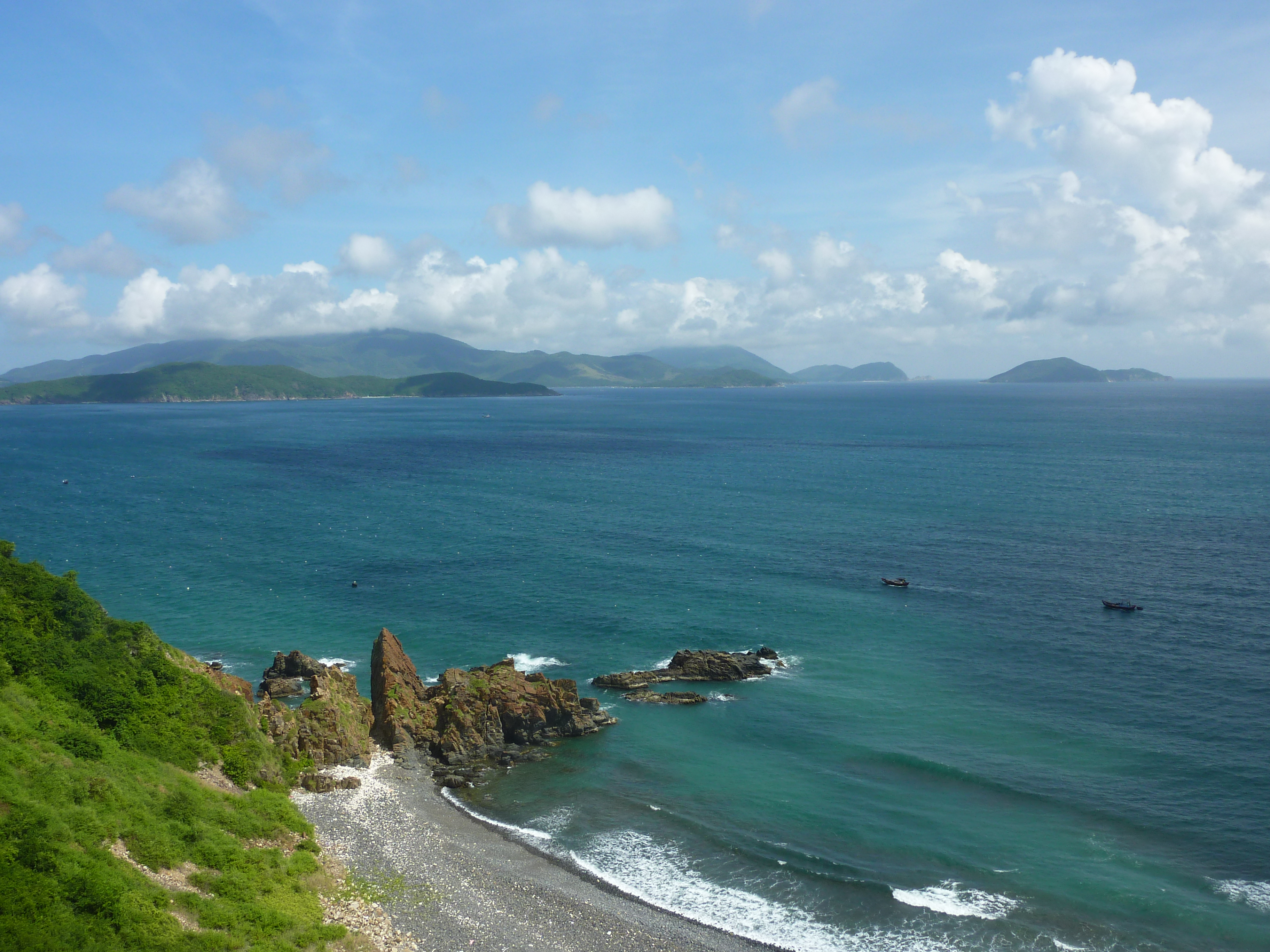 Coastline South of Nha Trang