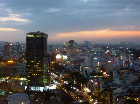 Saigon at Dusk