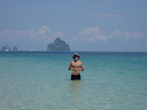 Me in the Andaman Sea
