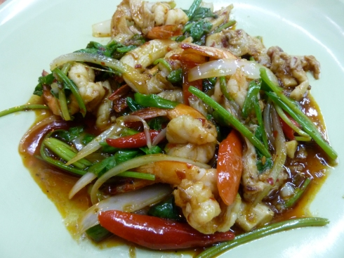 Tasty Seafood Stir Fry