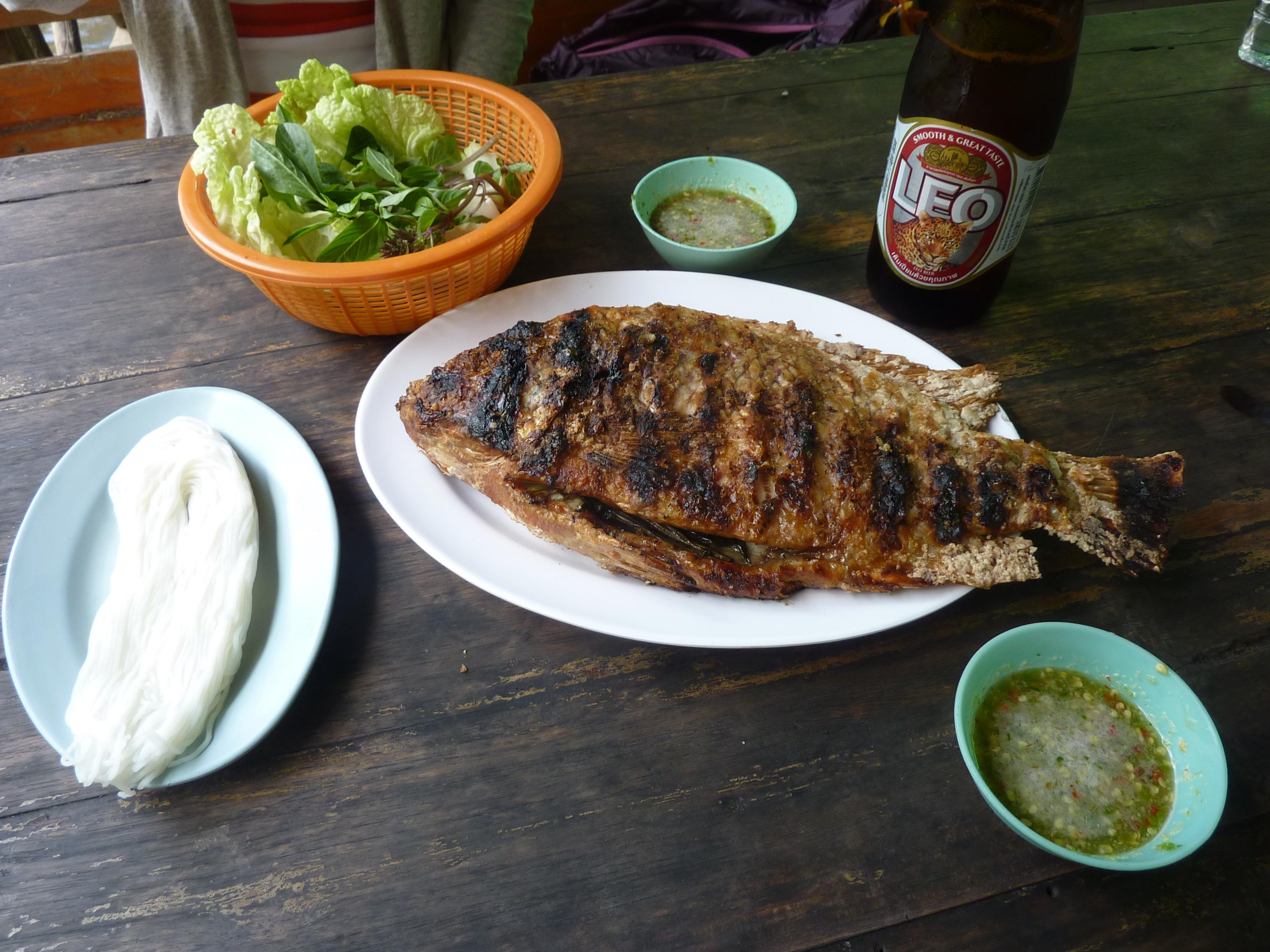 Thai River Fish Deliciousness