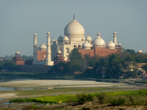 The Taj from Agra Fort