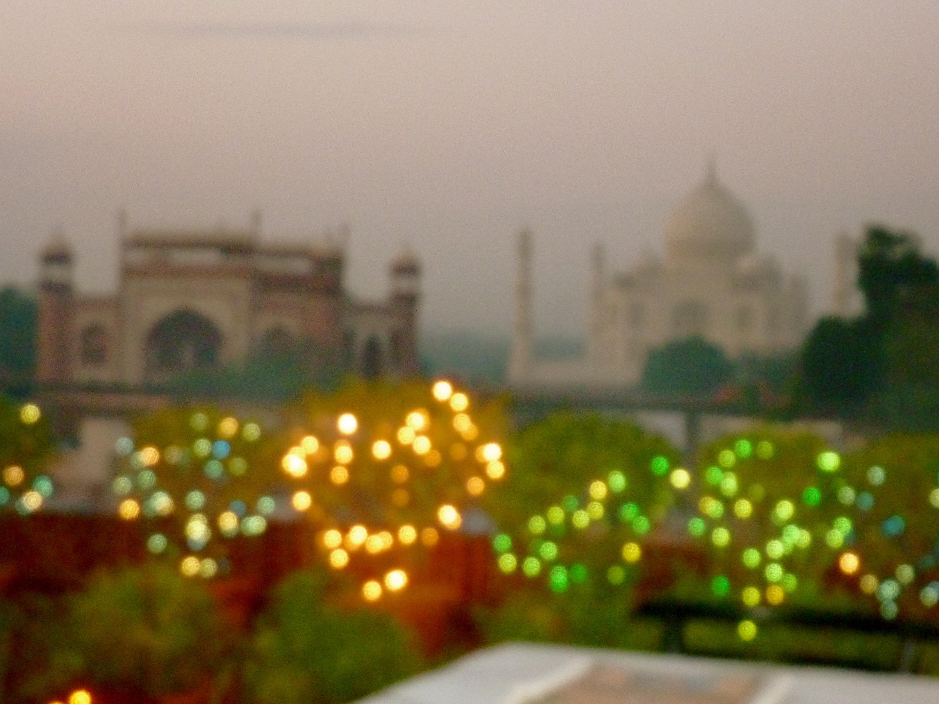 Dinner with the Taj