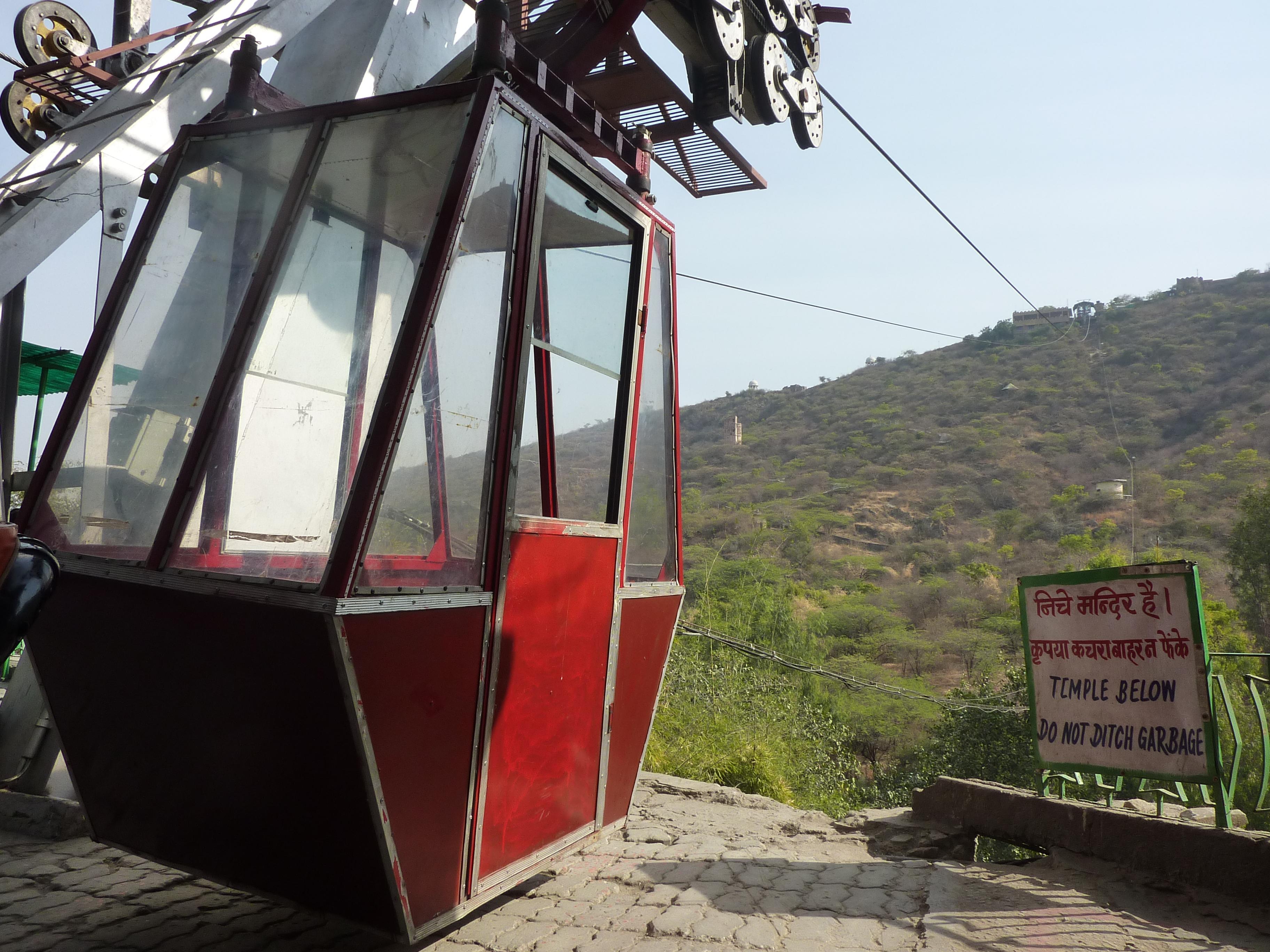 Sky Bucket in Udaipur