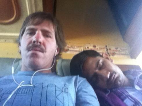 Bus to Jaisalmer